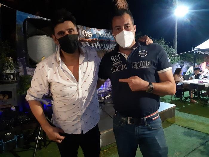 Jaime Valentin en Concierto Agosto 2021 con Dj Dav en el Pinar de Antequera Valladolid España